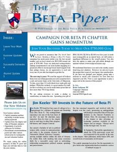 Beta Piper Spring 2015